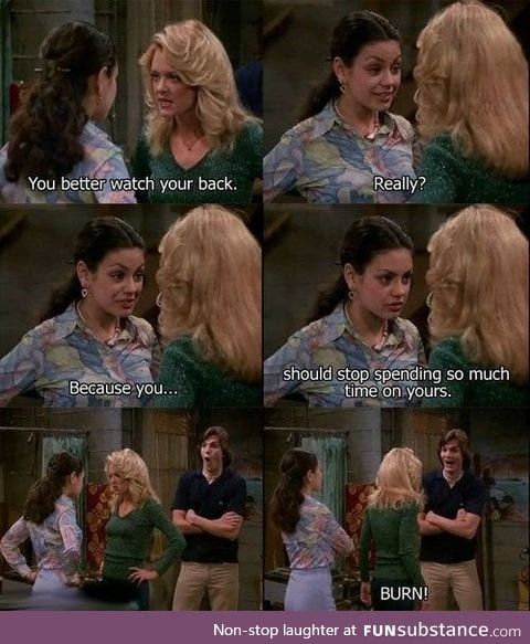 Jackie is my favourite that 70s show character, who is yours and why?