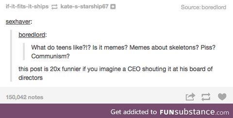 we like memes