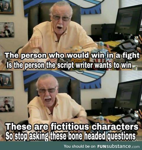 Stan Lee himself