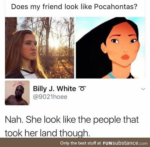 Does she look like