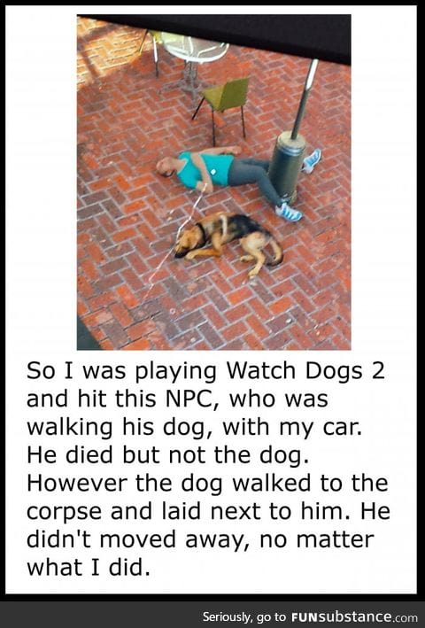 Dogs are great in games too
