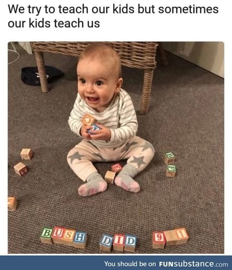 This kid is lit