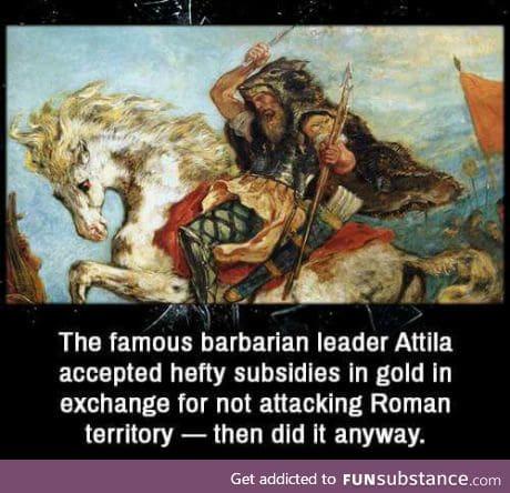 So barbaric