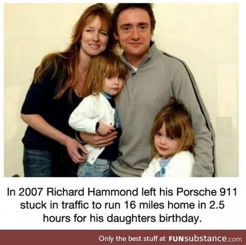 Richard hammond is a cool dude