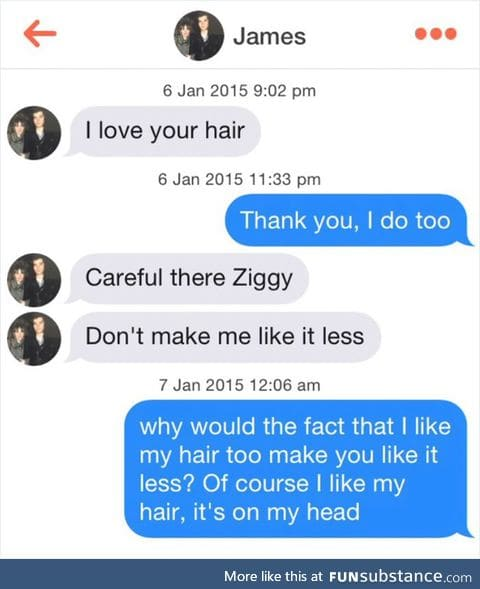 When women agree with compliments #2