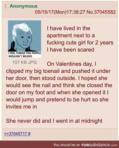 Anon and the girl next door