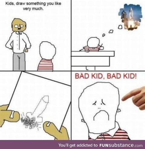 Poor child