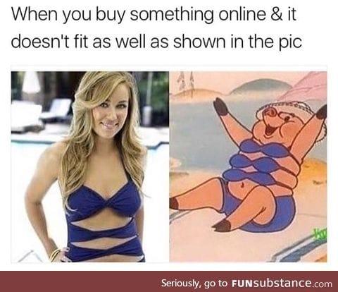 Looks the same