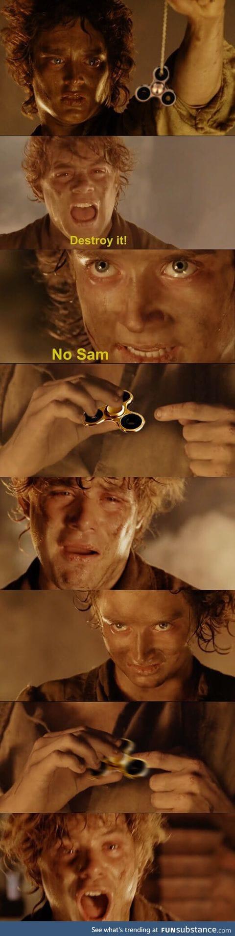 Don't do it, Master Frodo