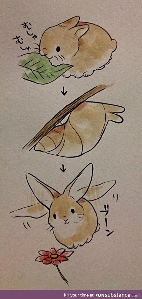 A Flutterbun
