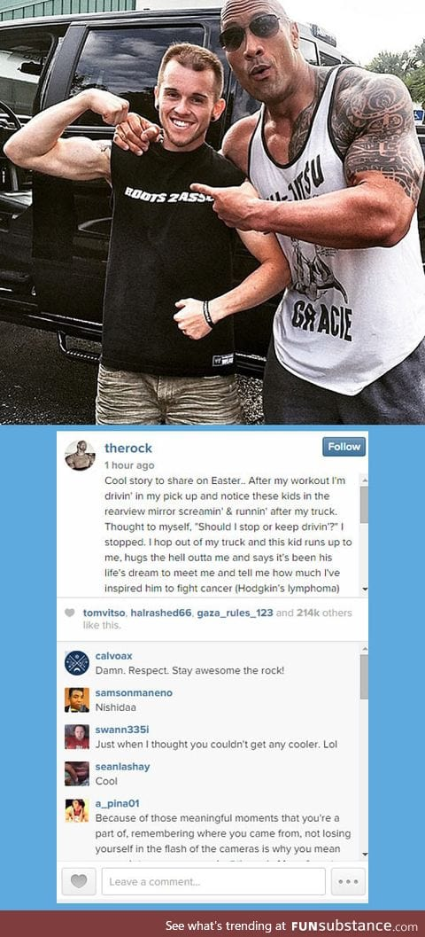 In Case You Didn't Realize What An Amazing Guy The Rock Is