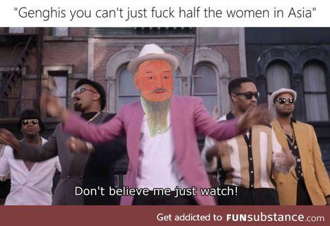Genghis the pimp