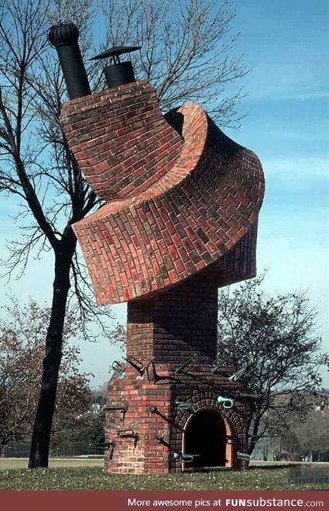 Unusual building..