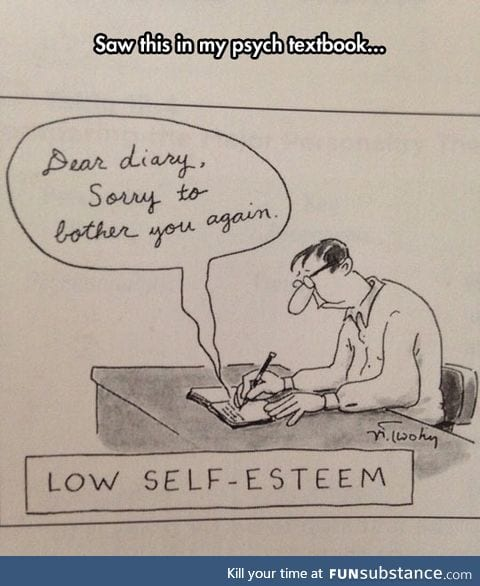 Psych textbook humor