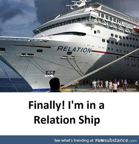 Finally I am in a relation ship