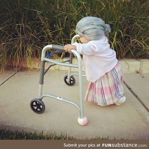 She would be the cutest little old lady