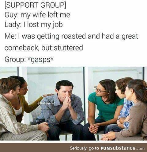No... Not the stutter