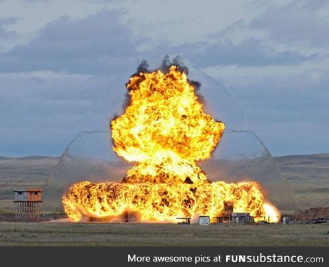 Really cool visible shockwave