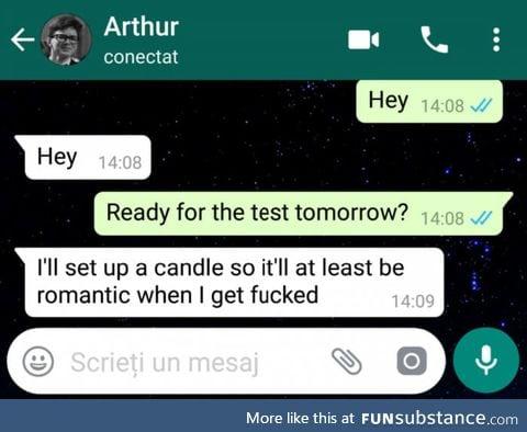 He'll do fine