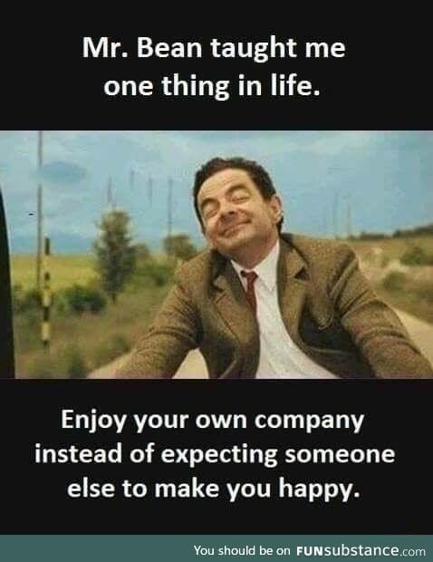 Lesson learnt from Mr. Bean