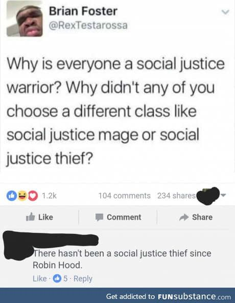 Has there been a Social Justice Mage?