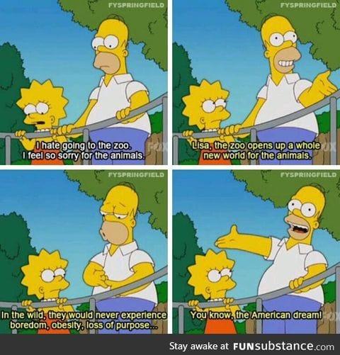 Living the dream, Simpson's