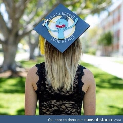 Cool graduation cap