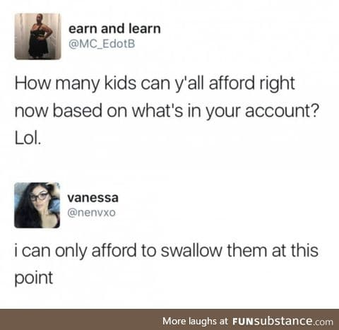 Save & swallow
