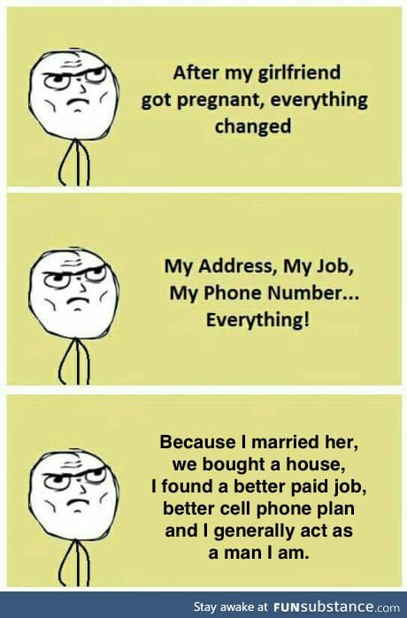Your girlfriend will change you