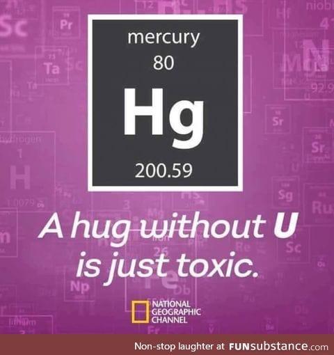 Hug without U