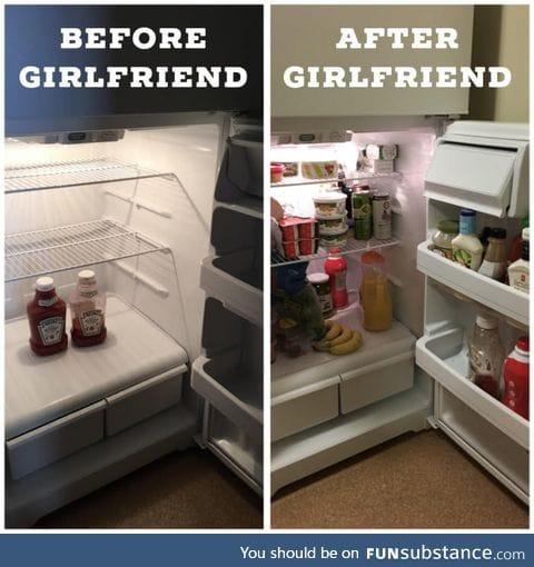 Girlfriend diet