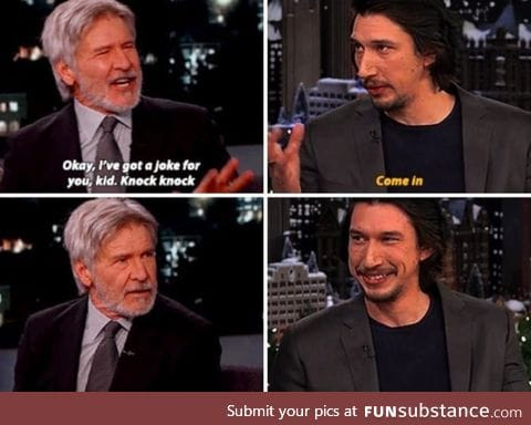 He killed Harrison Ford twice