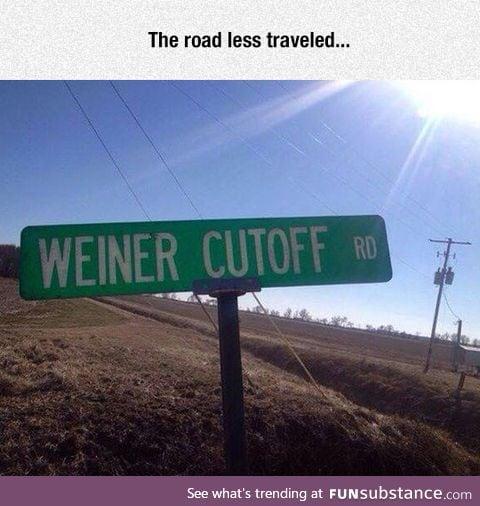 Probably a short cut