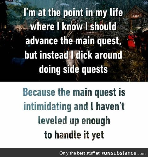Sidequests are the best