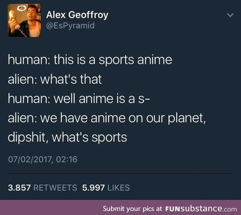 Even aliens have waifus