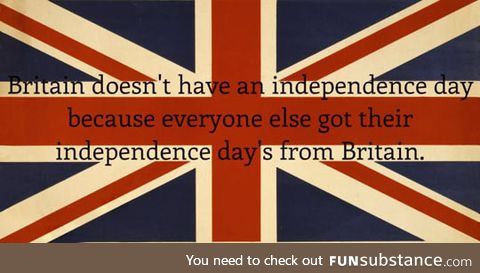 Britain's View On Independence Day