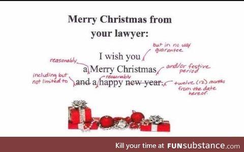 Lawyer's Christmas