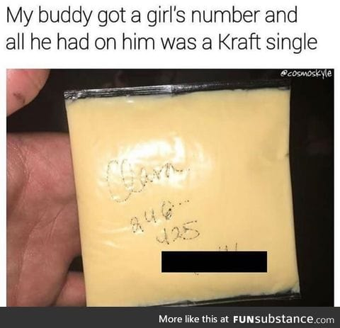 Whatever it takes to get her number