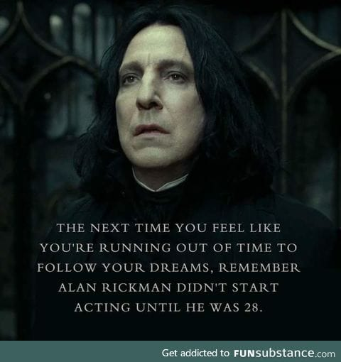 RIP Mr. Rickman, our forever Snape