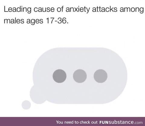Leading cause of anxiety in males