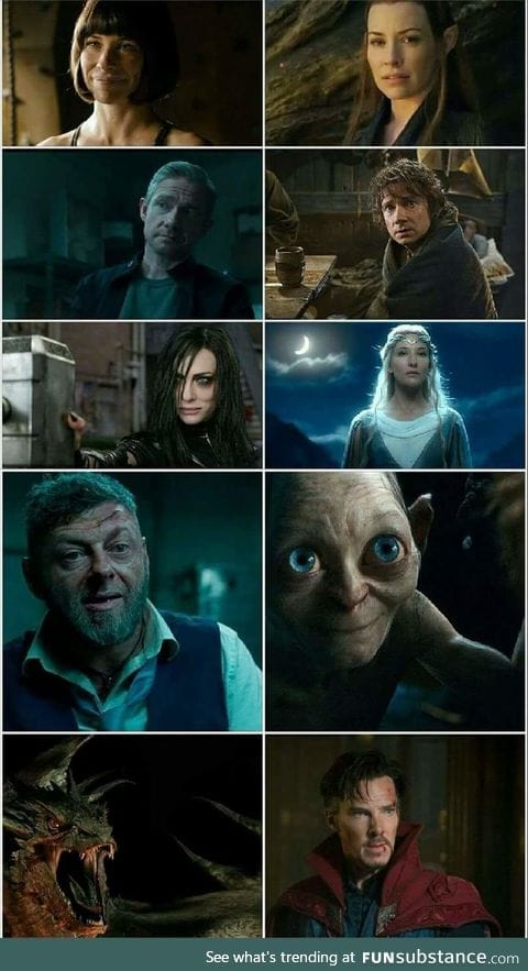 The MCU is just a recasting of Lord of the Rings