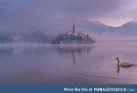 Real Life Fairytale Place 7: Lake Bled, Slovenia