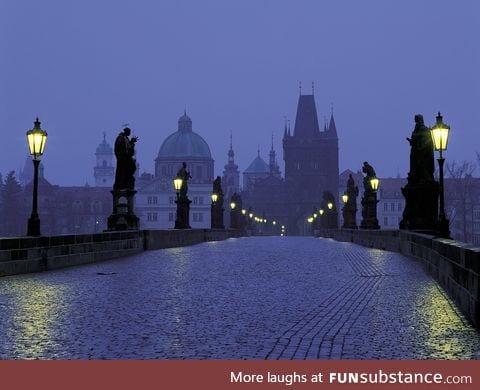 Real Life Fairytale Place 8: Charles Bridge in Prague, Czech Republic