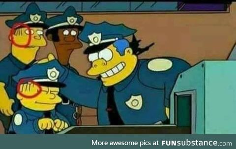 Maybe Ralph isn't actually Chief Wiggum's