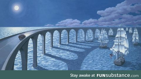 Rest in peace optical illusionist rob gonsalves. 1959-2017