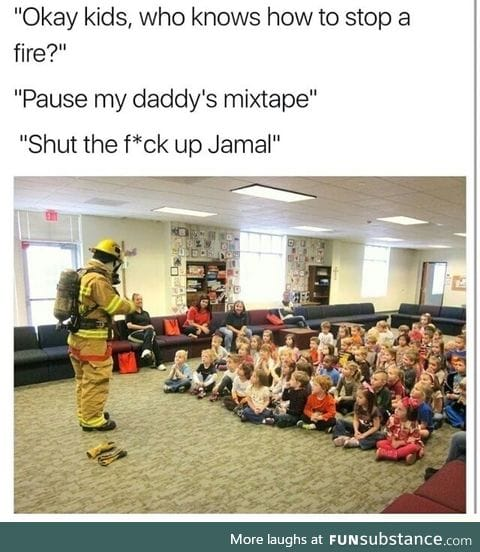 How tot stop a fire