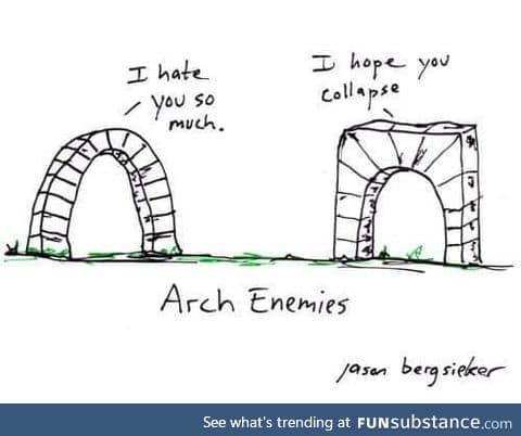 Arch enemies