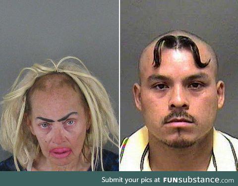 The dumbest mugshot hairdos ever
