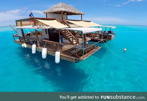 World's Coolest Floating Bar