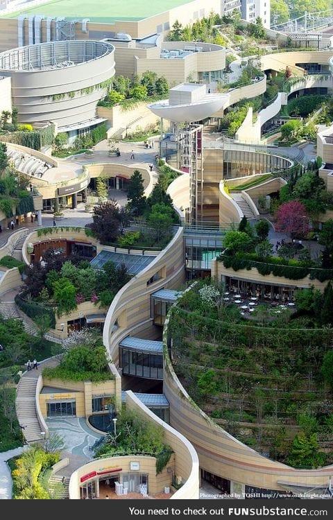 Landscape architecture & urban design in Osaka, Japan